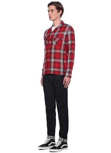 Edwin Kareli Uzun Kollu Gömlek Renkli